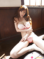 Anri Sugihara Asian with huge jugs is wild creature playing a lot